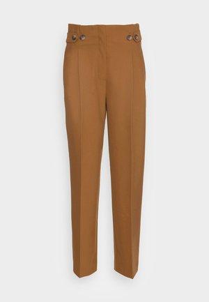 SLFLEVA PANT - Trousers - rubber