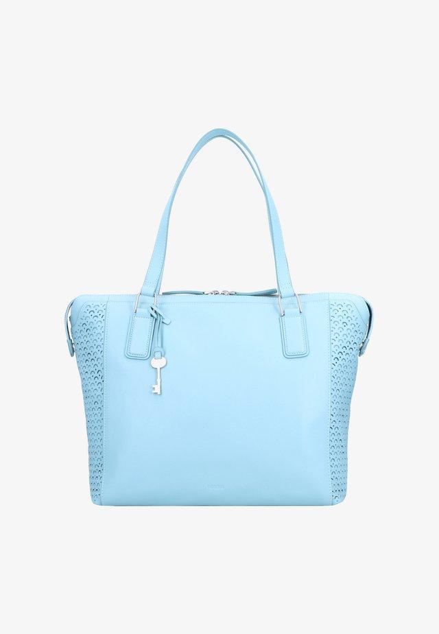 JACQUELINE - Shopping bag - turquoise