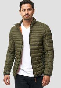 INDICODE JEANS - REGULAR FIT - Light jacket - army - 0