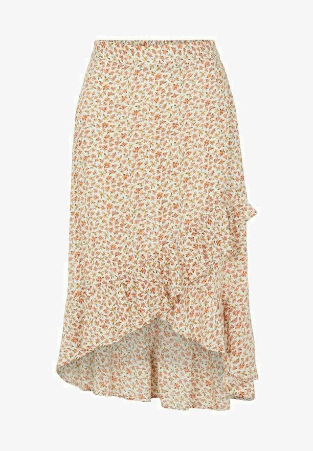 Spódnica trapezowa - orange