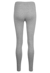 Nike Sportswear - CLUB - Legíny - dark grey heather - 1