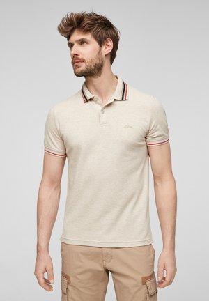 Poloshirt - offwhite melange