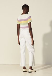 sandro - Straight leg jeans - blanc - 2