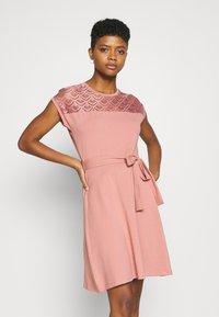 ONLY - ONLBILLA DRESS - Jersey dress - old rose - 3