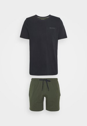 LOUNGESET CREW NECK - Pyjamas - khaki