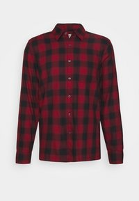 Abercrombie & Fitch - DRAPEY  - Skjorta - red ombre - 4