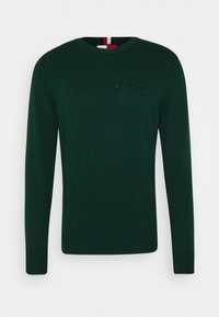 Tommy Hilfiger - TONAL AUTOGRAPH - Pullover - green - 4