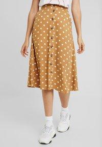 Minimum - SKIRT - A-line skirt - tobacco brown - 0
