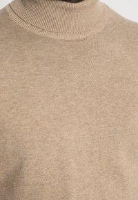 Selected Homme - SLHTOWER ROLL NECK  - Stickad tröja - tuffet/melange - 4