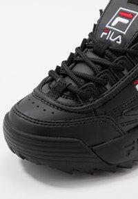 Fila - DISRUPTOR KIDS - Sneakers laag - black - 2
