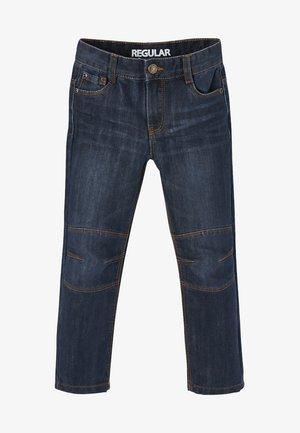 DIE UNVERWÜSTLICHE - Jeans a sigaretta - dark blue