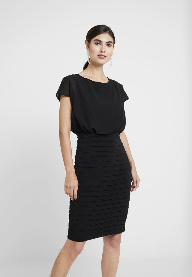 BLOUSON SHUTTER DRESS - Juhlamekko - black