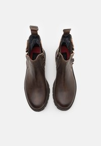 Shelby & Sons - RIDGACRE CHELSEA BOOT - Kovbojské/motorkářské boty - brown - 3