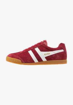 HARRIER - Sneakers basse - deep red/white