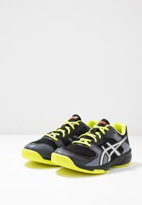 ASICS - GEL-TACTIC 2 - Volleyball shoes - black/silver - 3