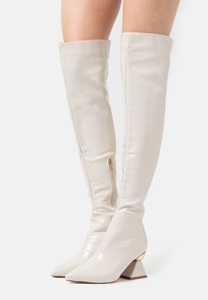 SPIRAL - Over-the-knee boots - offwhite