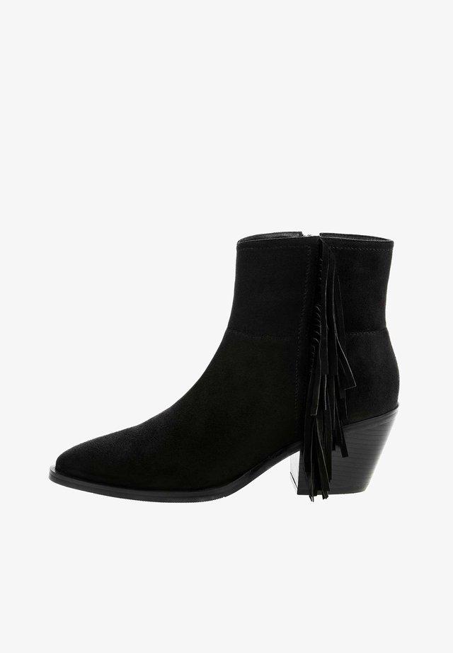APULIA - Ankelstøvler - black