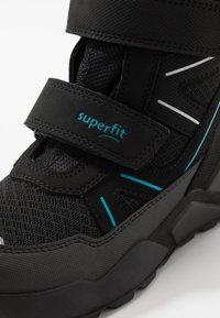 Superfit - ROCKET - Winter boots - schwarz/blau - 5