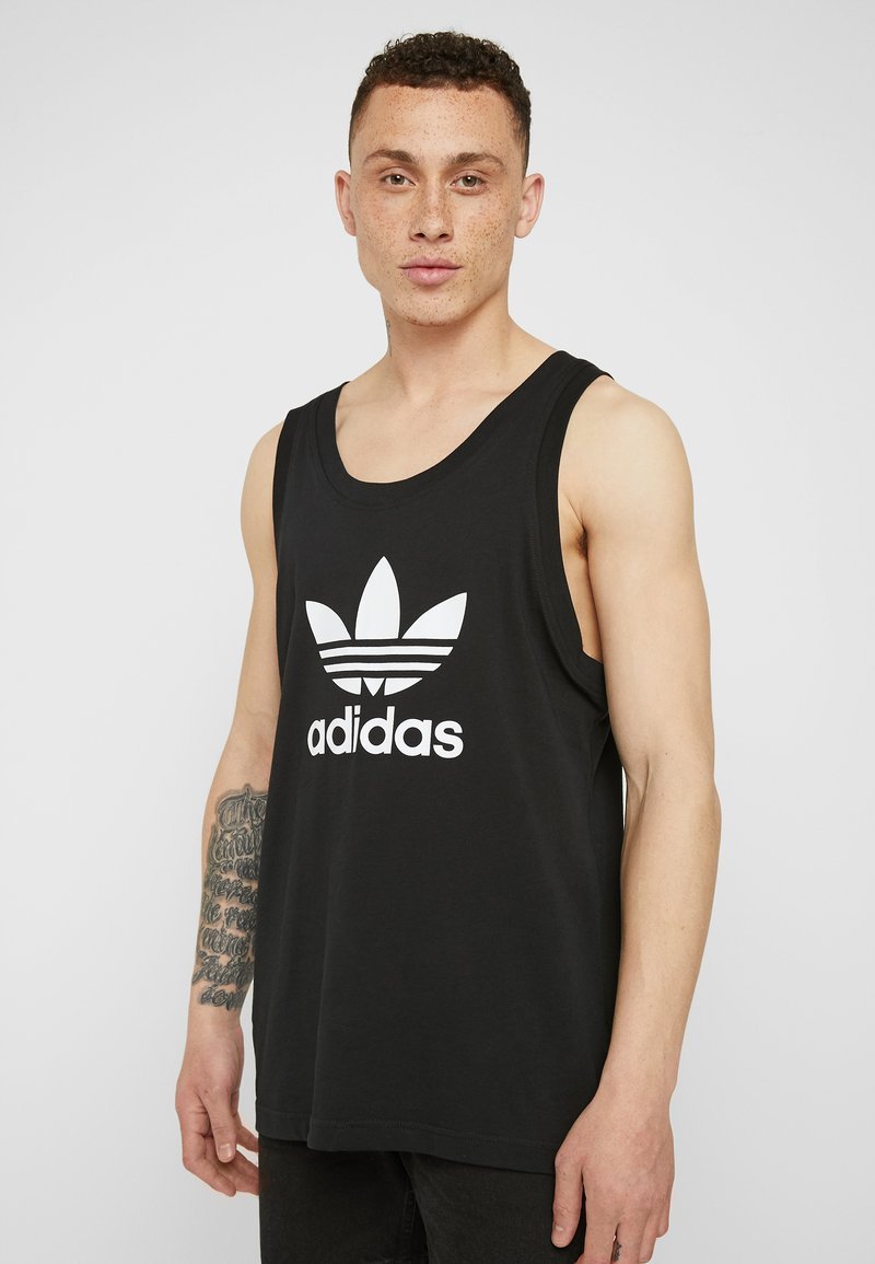 adidas Originals - TREFOIL TANK - Top - black