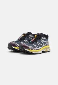 Salomon - XT-6 ADV UNISEX - Sneakers basse - india ink/lunar rock/maverick - 1