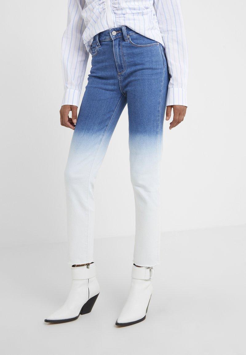 Paige - HOXTON  HEM - Jeans Skinny Fit - arctic ombre