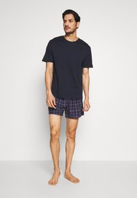 Pier One - SET - Pyjama - dark blue - 1