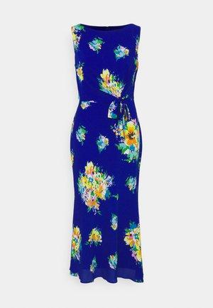 TOMARA - Denní šaty - sapphire star/yellow/multi