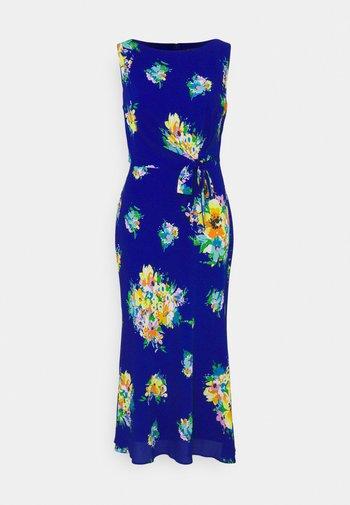 TOMARA - Day dress - sapphire star/yellow/multi