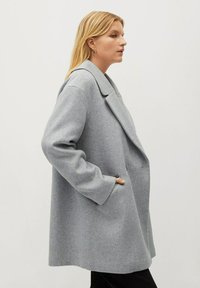 Violeta by Mango - CRUZA - Short coat - hellgrau meliert - 3