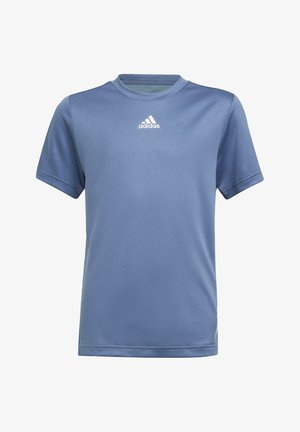 AEROREADY T-SHIRT - Print T-shirt - blue