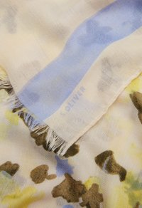 s.Oliver - MIT MUSTERMIX - Scarf - offwhite placed print - 4