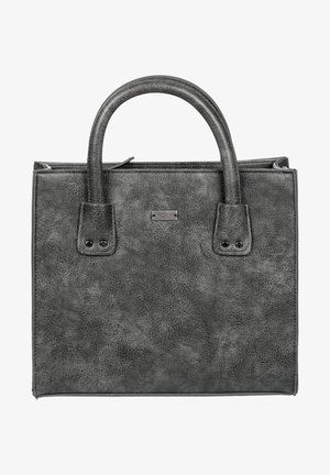 HAPPY VIBES - MITTLERE - Handbag - anthracite