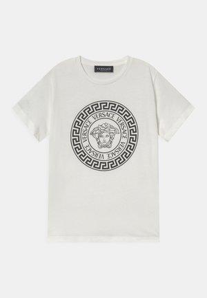 MEDUSA - T-shirt print - bianco/nero