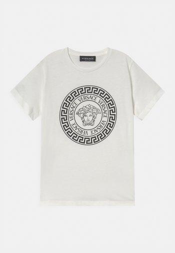 MEDUSA - Print T-shirt - bianco/nero
