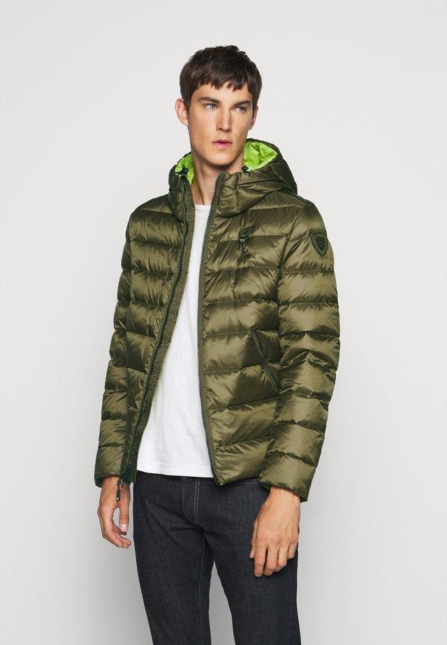 GIUBBINI CORTI IMBOTTITO - Down jacket - dark olive/poison green