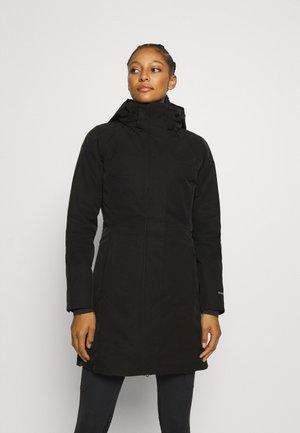 3-IN-1 PARKA - Dunkåpe / -frakk - black
