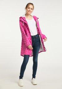 Schmuddelwedda - Waterproof jacket - pink aop - 1