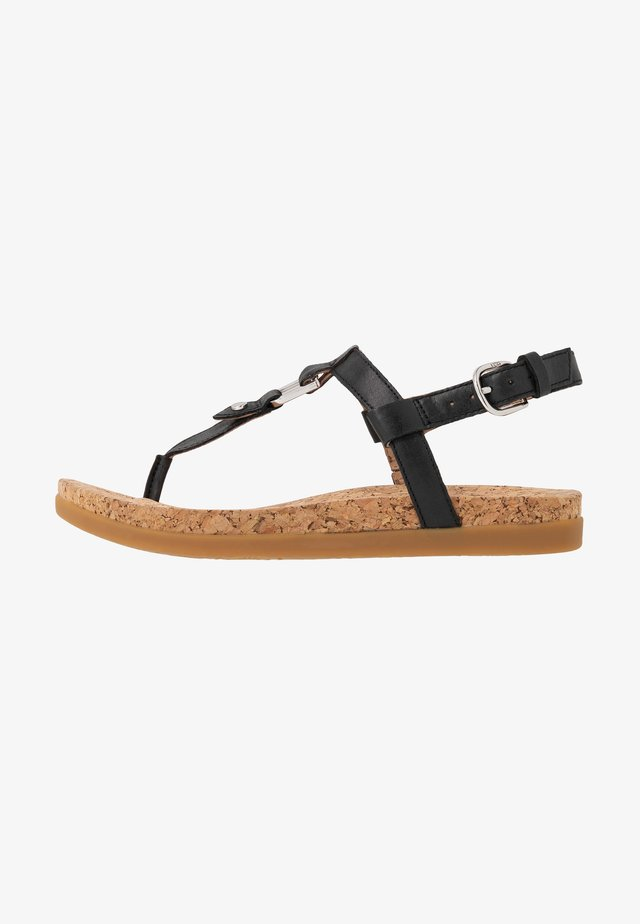 ALEIGH - Tongs - black