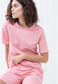 mey - LANGES SCHLAFSHIRT SERIE ZZZLEEPWEAR - Pyjama top - powder pink - 3