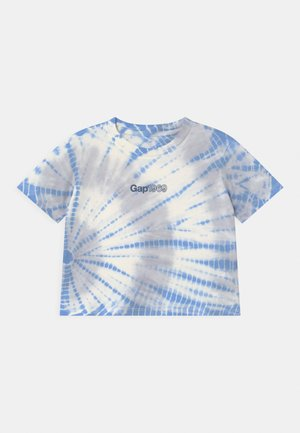 GIRL LOGO  - Print T-shirt - blue