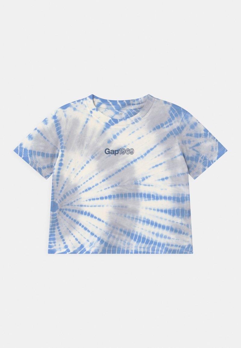 GAP - GIRL LOGO  - Print T-shirt - blue