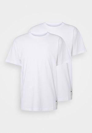 STANDARD ORGANIC TEE 2 PACK - Basic T-shirt - white