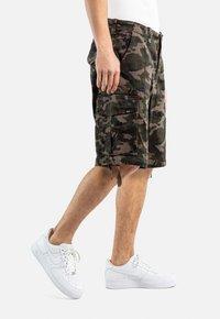 Reell - NEW CARGO SHORT - Shorts - camo - 3