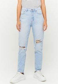 TALLY WEiJL - Slim fit jeans - bleached denim - 0