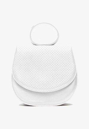 Across body bag - snow white perforation