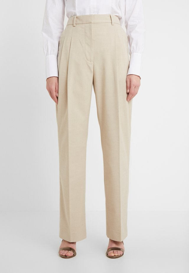 LOUISAMAY - Trousers - nature