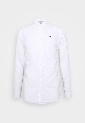 LONGSLEEVE BLEND  - Overhemd - white