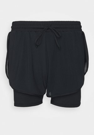 SHORT - Urheilushortsit - black