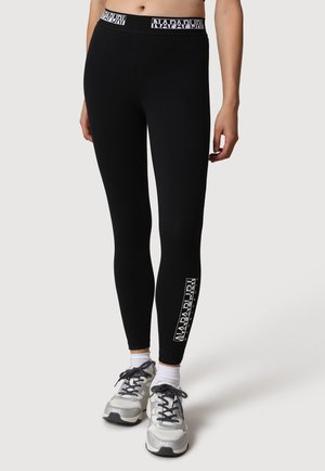 BOX  - Leggings - Trousers - black
