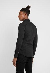 Emporio Armani - CAMICIA - Camisa - black - 2